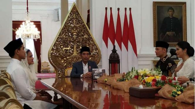 AHY dan Ibas temui Jokowi di Istana