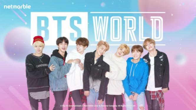 BTS World.