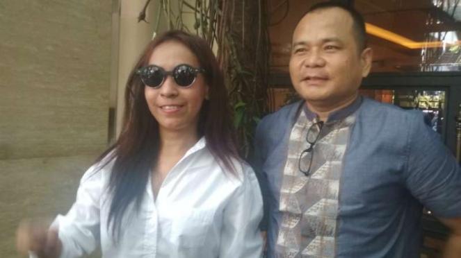 Endang Suhartini alias Siska, teman Vanessa Angel yang sama-sama terbelit perkar