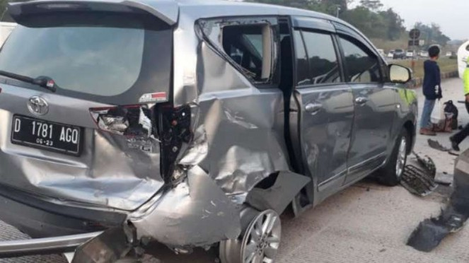 Kecelakaan beruntun di Tol Cipali, 8 Juni 2019