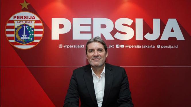 Pelatih anyar Persija, Julio Banuelos Saez