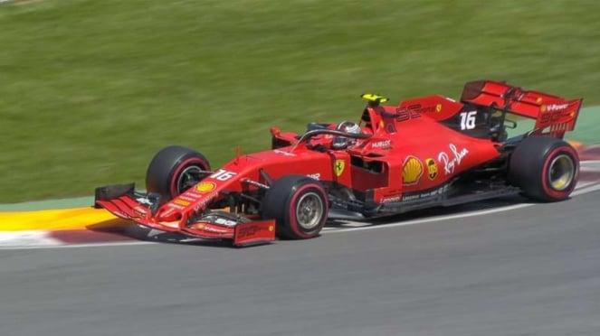 Pembalap Tim Scuderia Ferrari, Sebastian Vettel