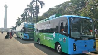 Mobil listrik Transjakarta