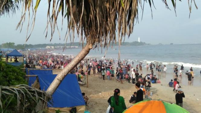 Pantai Selatan Garut Dikunjungi 40 Ribu Wisatawan Selama