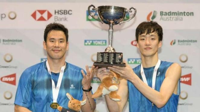 Ko Sung Hyun/Shin Baek Cheol juarai Australian Open 2019.