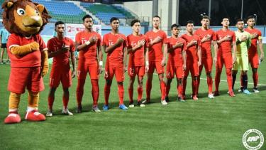 Timnas Singapura u-23 di Merlion Cup 2019