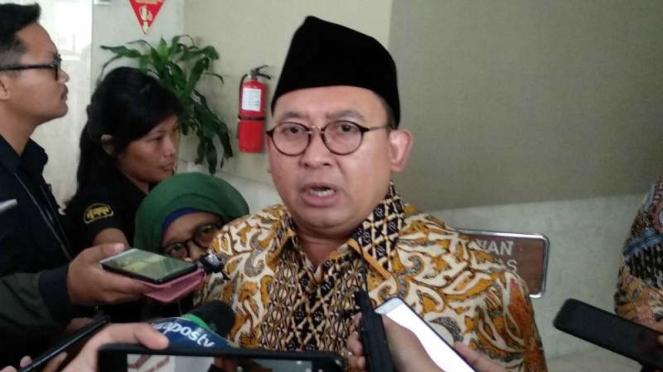 Mantan Wakil Ketua DPR Fadli Zon.