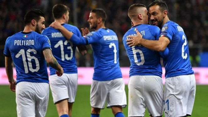 Para pemain timnas Italia