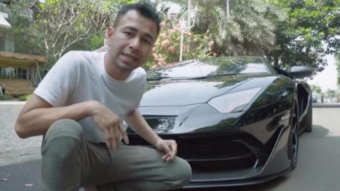 Modifikasi Lamborghini Aventador milik Raffi Ahmad