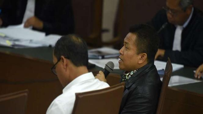 Sekjen Kemenag Nur Kholis Setiawan bersaksi di sidang suap jual beli jabatan