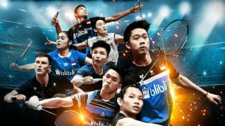 Laga pebulutangkis dunia di pentas Indonesia Open 2019