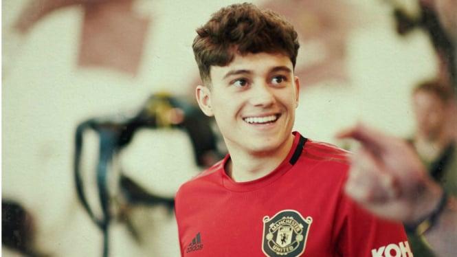 Pemain anyar Manchester United (MU), Daniel James