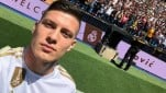 Striker Real Madrid, Luka Jovic.