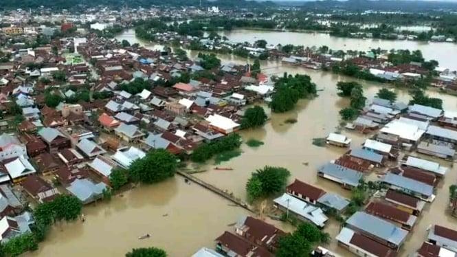 Banjir di Kabupaten Wajo