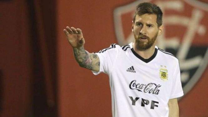 Kapten Tim Nasional Argentina, Lionel Messi