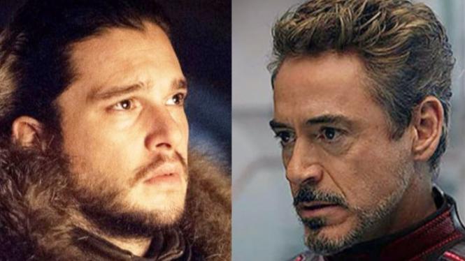 Jon Snow dan Tony Stark