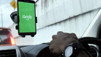 Aplikasi Grab.