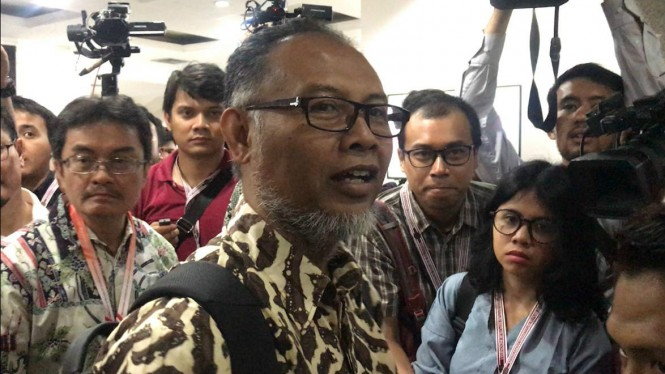 Ketua Tim Hukum Prabowo-Subianto, Bambang Widjojanto.