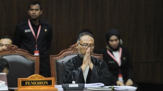 Ketua Tim Hukum Prabowo-Sandi, Bambang Widjojanto.