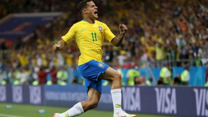 Gelandang Brasil, Philippe Coutinho