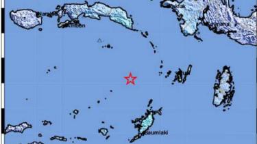 Gempa tektonik berkekuatan magnitudo 5,7 mengguncang Laut Banda, Maluku, pukul 03.10 WIB, Sabtu, 15 Juni 2019.