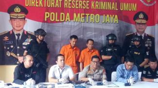 Komplotan curanmor di Bekasi dibekuk polisi.