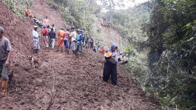 Longsor di Luwu Sulawesi Selatan