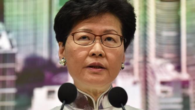 Carrie Lam mengumumkan penangguhan RUU Ekstradisi - AFP