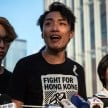 Protest groups rejected the Hong Kong government`s concessions - EPA