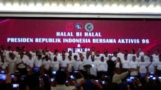 Halal bi Halal Jokowi dengan aktivis 98.