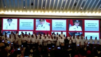 Silaturahmi dan Halal bi Halal Aktivis 98 dengan Jokowi.