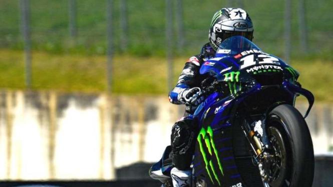 Pembalap Tim Monster Yamaha, Maverick Vinales