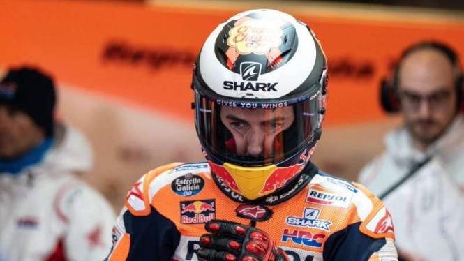 Pembalap Tim Repsol Honda, Jorge Lorenzo