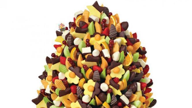 Karangan buah.