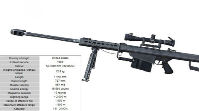 Barrett M82 (USA)