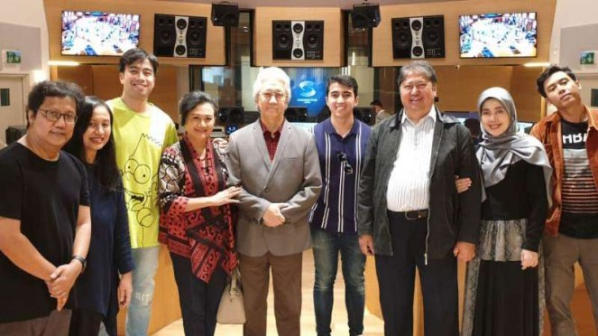 Vidi Aldiano, Erwin Gutawa dan Vadi Akbar rekaman
