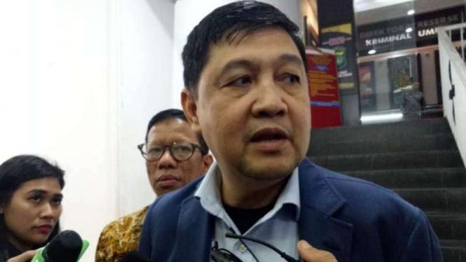 Kuasa hukum eks Kapolda Metro Jaya, Sofyan Jacob, Ahmad Yani.