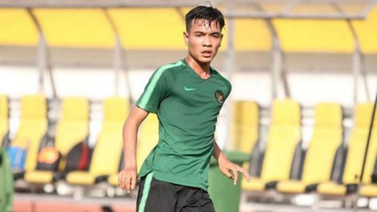 Gelandang Timnas Indonesia U-19 dan Garuda Select, Brylian Negietha Aldama,