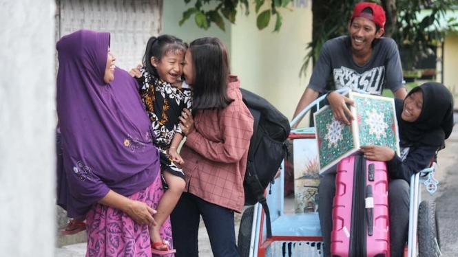 Salah satu hasil foto peserta dalam lomba Fotografi Bakrie Amanah.