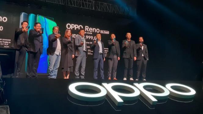 Peluncuran Oppo Reno