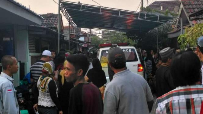Rumah duka korban kecelakaan tol Cipali.