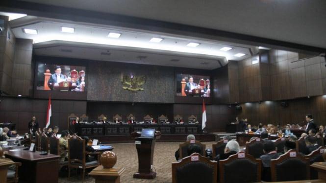 Sidang Gugatan Pilpres 2019 di MK