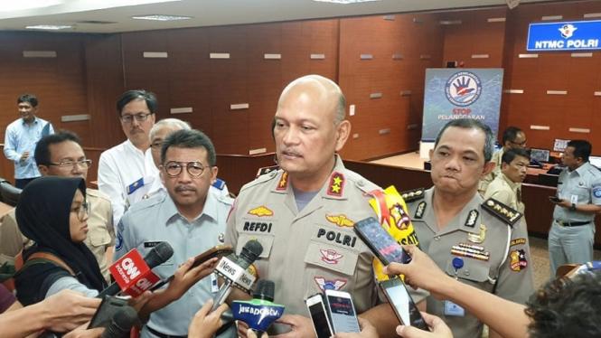 Kepala Korps Lalu Lintas Polri Inspektur Jenderal Polisi Refdi Andri.