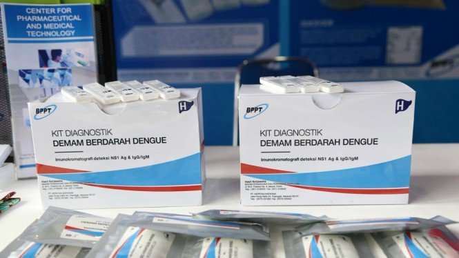 Kit diagnostik Demam Berdarah Dengue