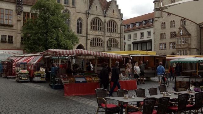 Salah satu Pasar Segar di Jerman