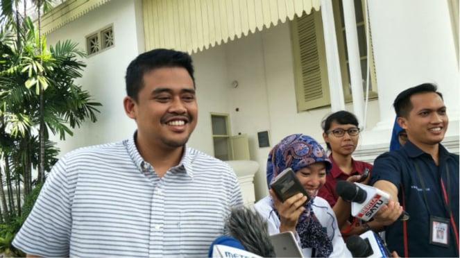 Menantu Presiden Joko Widodo, M Bobby Nasution