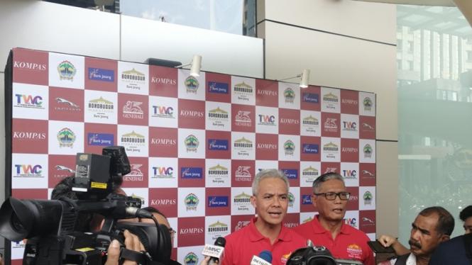 Konferensi pers Borobudur Marathon