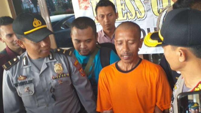 Hamdani, ditetapkan sebagai tersangka kasus makar oleh Polres Garut, Jawa Barat.