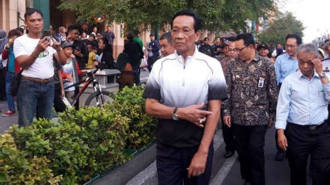 Sultan HB X tinjau ujicoba kawasan semi pedestrian di Jalan Malioboro