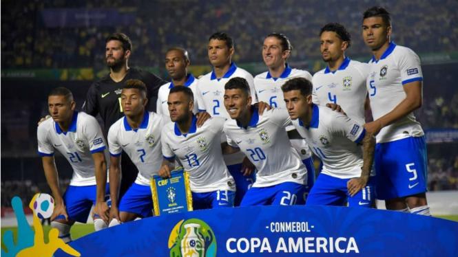 Skuat Timnas Brasil di Copa America 2019